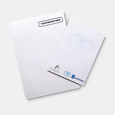 A4 Note pad (25 leaves per pad)