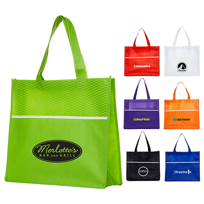 Shopping Tote Bag with Waves
