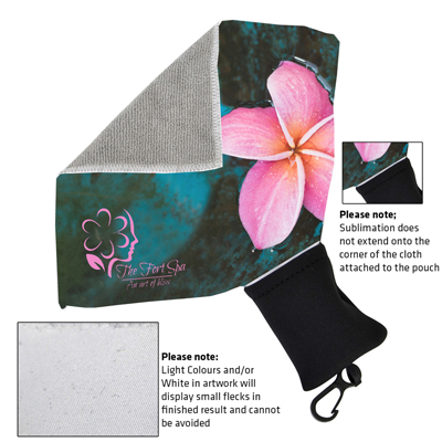 Micro Fibre Towel with Pouch