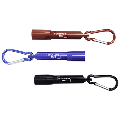 Carabiner LED Flashlight with Gift Box