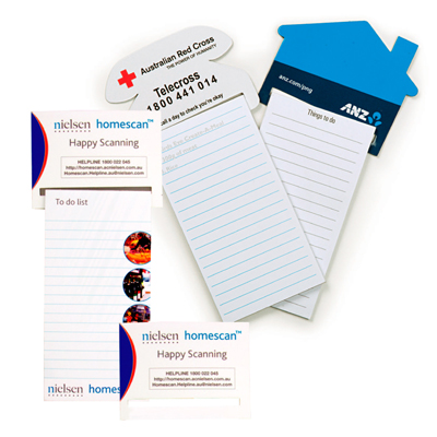 Standard Magnet - 95mm x 70mm Pad - 75mm x 140mm Van Shaped To Do Lists