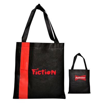 Corporate Tote Bag with Pen Holders