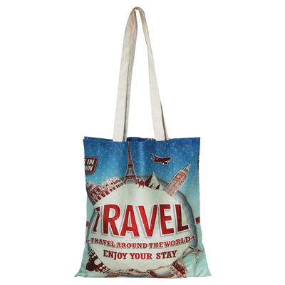 Full-Colour Cotton Tote Bag