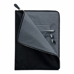 Temple A4 Soft Leather Brief-Logo