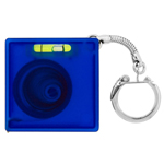 Tape Measure with Level Key Chain-Logo
