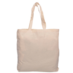 Calico Tote Bag with Gusset-Logo