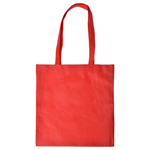 Shopping Tote Bag with V Gusset-Logo